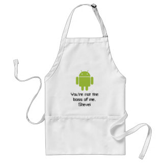 You're not the boss of me, Steve! apron