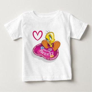 You're Tweet Tweety Bowl Baby T-Shirt