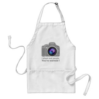 You're Warned! Standard Apron