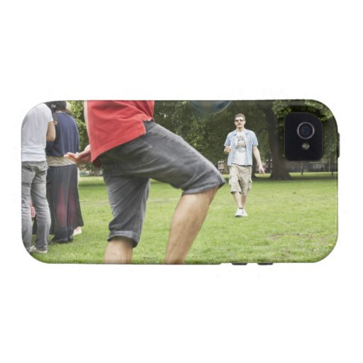 youth, young, friends, park, bbq, grass, trees, iPhone 4/4S cover