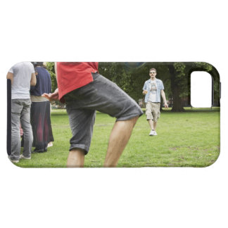 youth, young, friends, park, bbq, grass, trees, iPhone 5 cover