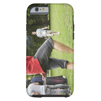 youth, young, friends, park, bbq, grass, trees, tough iPhone 6 case