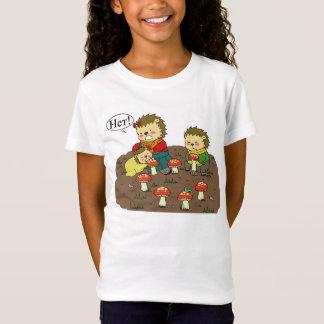 Yozhin family mushrooms t-shirt