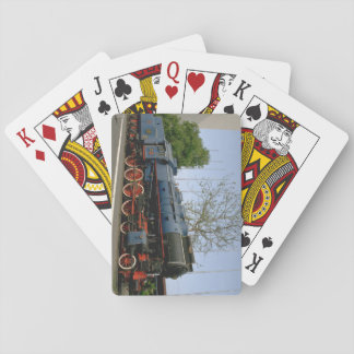 Yugoslavia, JZ 4-8-0 #11-022_Trains of the World Playing Cards
