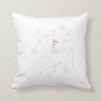 Yuki Monkey Pillow Pink