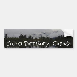 Yukon Heartbeat Monitor; Yukon Territory Souvenir Bumper Sticker