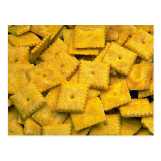Yummy Cheese crackers Post Card