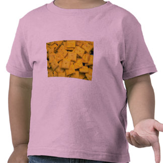 Yummy Cheese crackers T-shirts