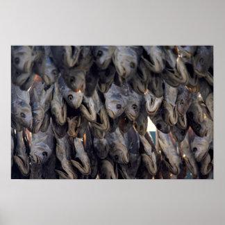 Yummy Dry salt fish pattern Posters