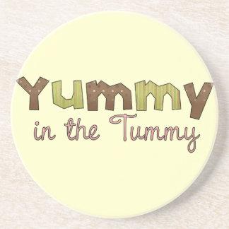 Yummy in the Tummy  Coasters