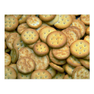 Yummy Snack crackers Post Cards