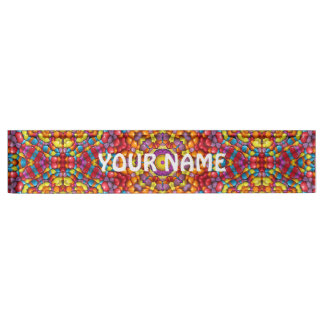 Yummy Vintage Kaleidoscope    Desk Nameplate