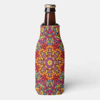 Yummy Yum Kaleidoscope  Colorful Bottle Cooler
