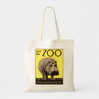 Z00 - Hippo Tote Bag