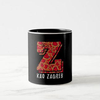 Z kao Zagreb Croatian Mug