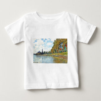 Zaandam by Claude Monet Baby T-Shirt