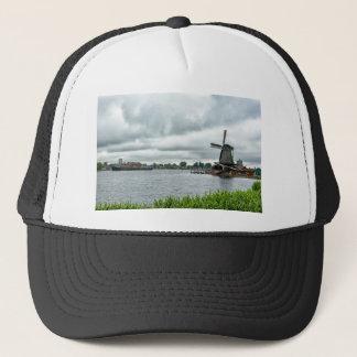 zaanse schans, Netherlands Trucker Hat