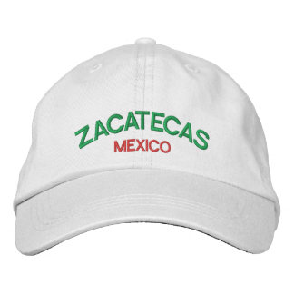 Zacatecas Mexico Personalized Adjustable Hat