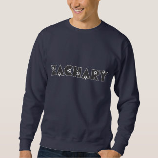 Zachary in Soccer Black Sweatshirt