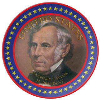 zachary taylor 12th President Plate