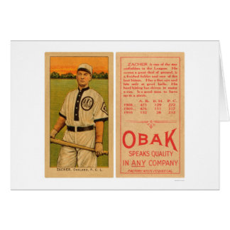 Zacher Oakland Baseball 1911 Card
