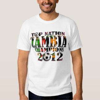 Zambia 2012 Africa Cup of Nations Champions Shirt