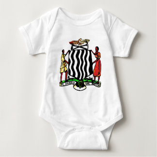 Zambia, Africa, Coat of Arms Shirts