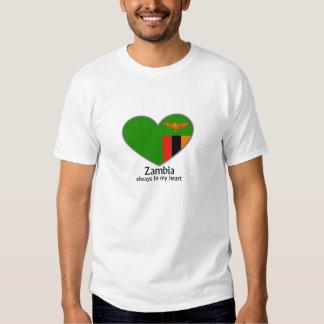 Zambia always in my heart t shirts