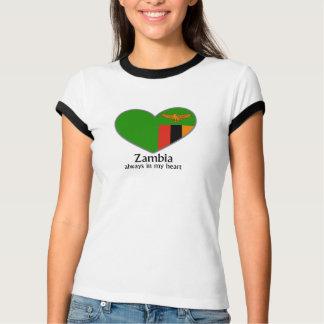 Zambia always in my heart tee shirt