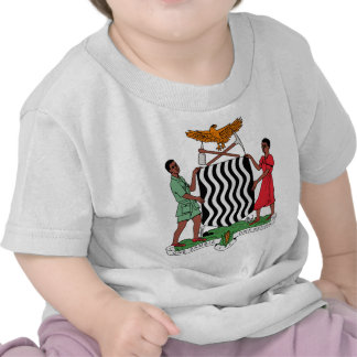 Zambia Coat of Arms T-shirts
