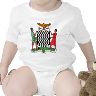 Zambia Coat of Arms Rompers