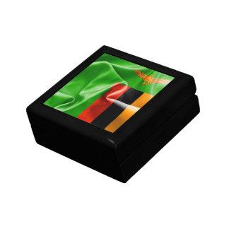 Zambia Flag Gift Box