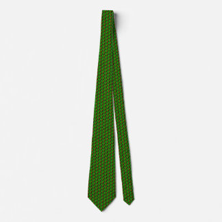 Zambia Flag Hearts Tie