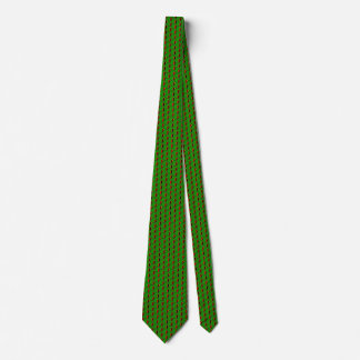 Zambia Flag Honeycomb Tie
