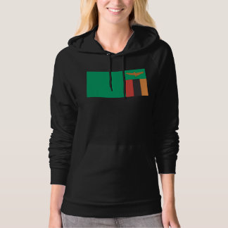 Zambia Flag Hooded Pullovers