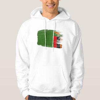 Zambia Flag Hoodie