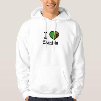 Zambia Flag Hoodies