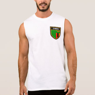 Zambia Flag Sleeveless Shirt