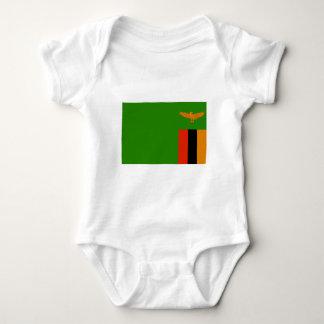 Zambia Flag Tee Shirts