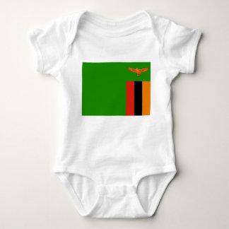 Zambia Flag Tee Shirt