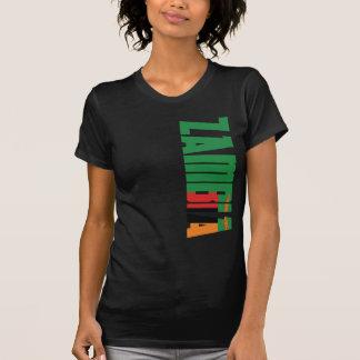 Zambia Flag Tshirt