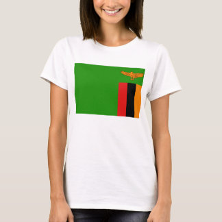 Zambia Flag x Map T-Shirt
