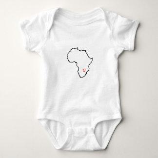Zambia Heart Tee Shirts