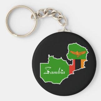 Zambia Keychain
