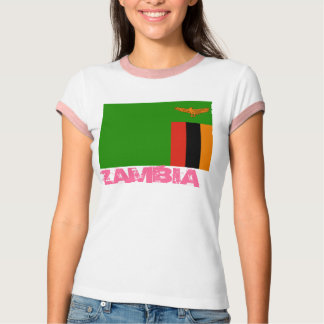 ZAMBIA* Ladies T-shirt