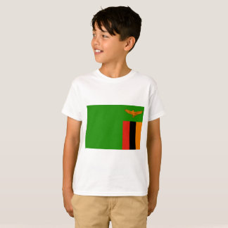 Zambia National World Flag T-Shirt