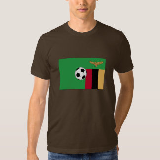 Zambia Soccer T Shirt