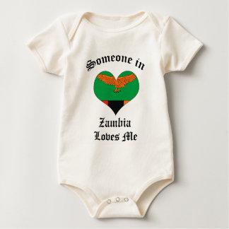 Zambia Baby Bodysuit