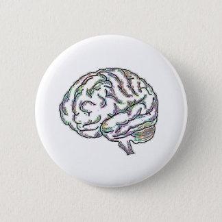 Zany Brainy 6 Cm Round Badge