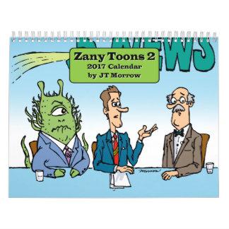 Zany Toons 2 Calendar